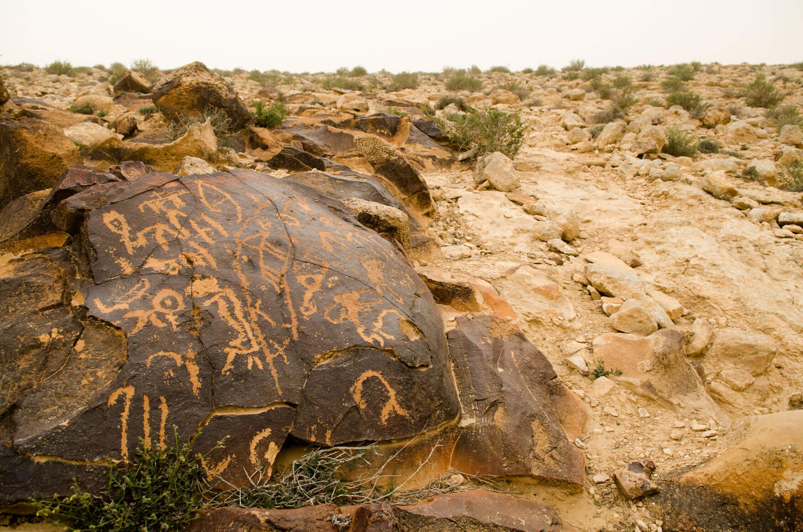 4 - בעקבות ציורי הסלע המסתוריים בנגב